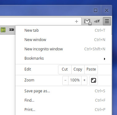 Google Chrome Wrench Icon to be Replaced | OMG! Chrome!