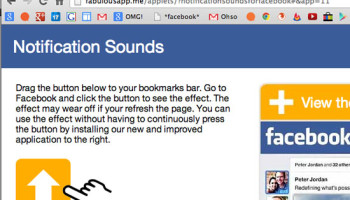 Audible Alarm for Facebook