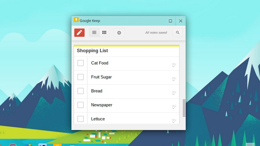 Third-Party Dev Brings Google Keep to Google Chrome | OMG