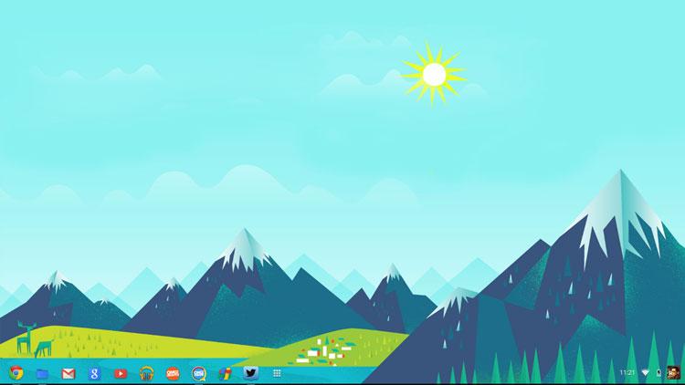 Google Now Desktop Wallpapers