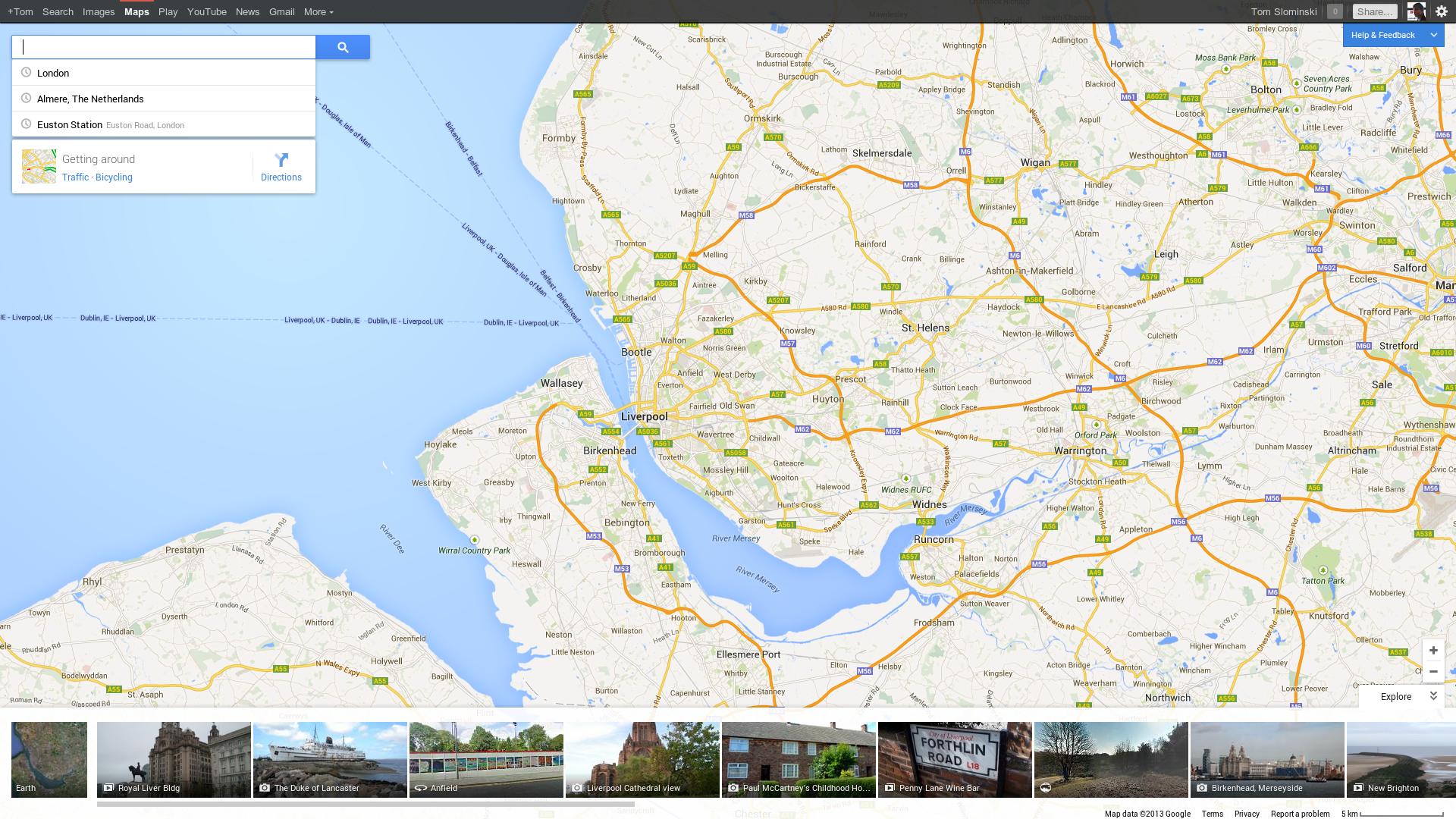 Google Maps Navigointi