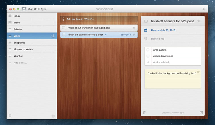 Wunderlist Launches as Packaged App on Chrome Web Store