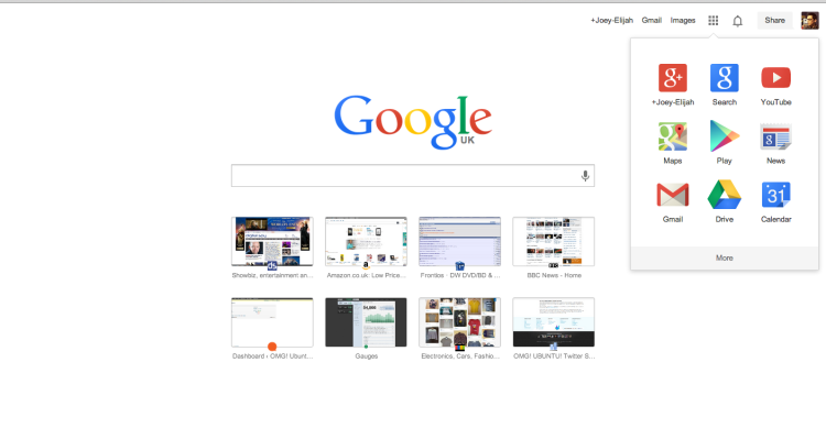 google's new look