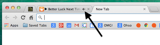 tab indicators in chrome