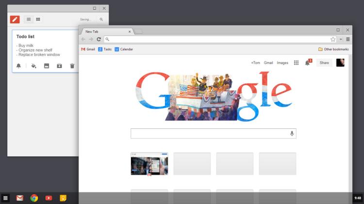 Chrome Windows 8 Metro