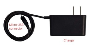 The US charger being recalled.