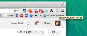 gmail toggle