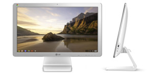 The new LG Chromebase