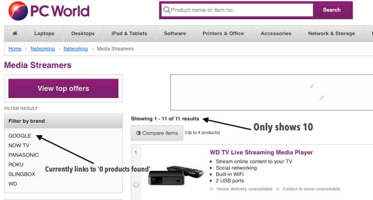 Chromecast Stock