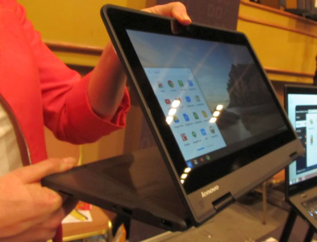 First Look at Lenovo's New Chromebook Convertible - OMG! Chrome!