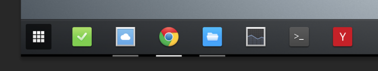 chrome os hosted icons