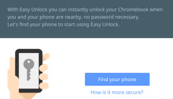 easy unlock chromebook
