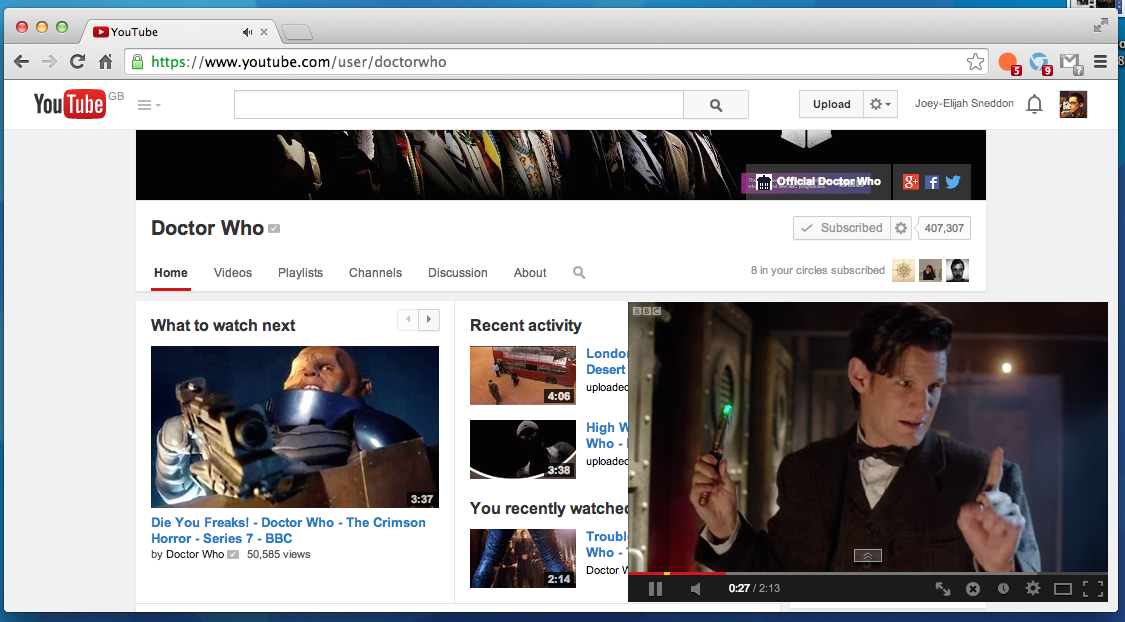 Enable Android-Style YouTube Multitasking in Chrome | OMG