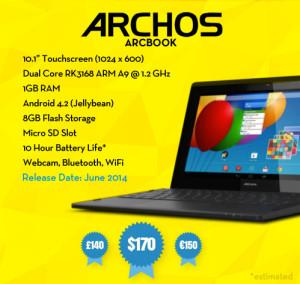 Archos Arcbook