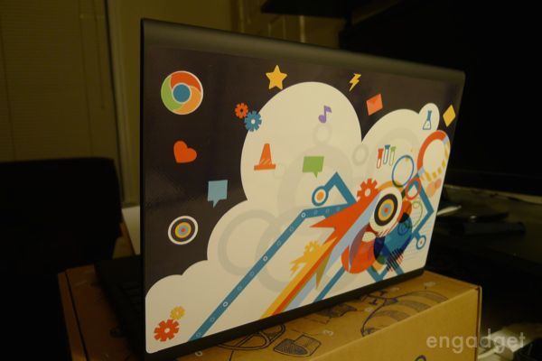 these official google chromebook decals are awesome. Black Bedroom Furniture Sets. Home Design Ideas