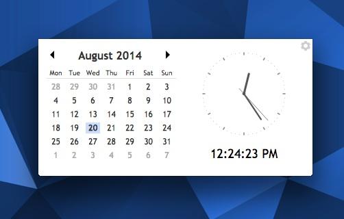 Calendar And Clock Wallpaper Free Download : Desktop calendar clock app for chrome and os omg