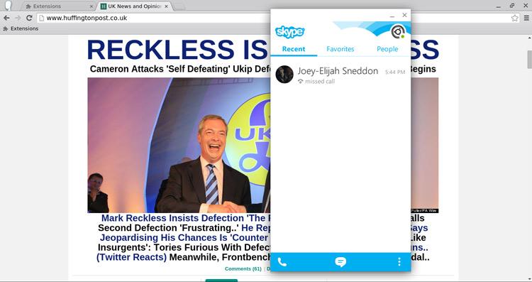 developer packages up skype apk for easy install on chrome os