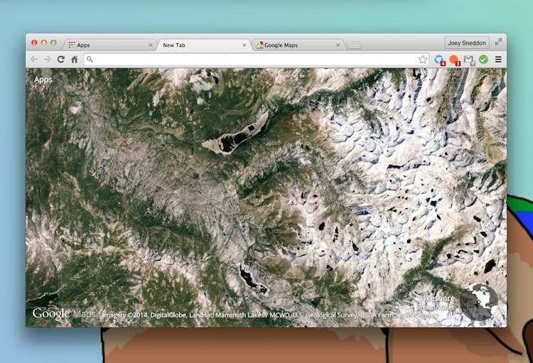 Google S Earth View Extension Puts The World In A New Tab