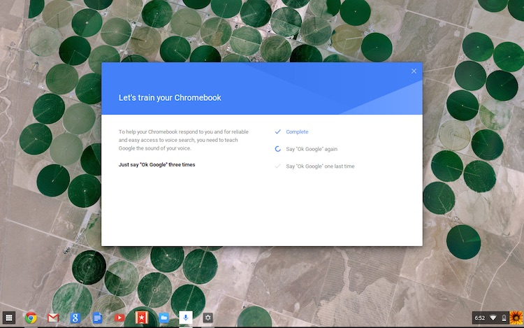 How to Try Always On 'Ok Google' Voice Search in Chrome OS