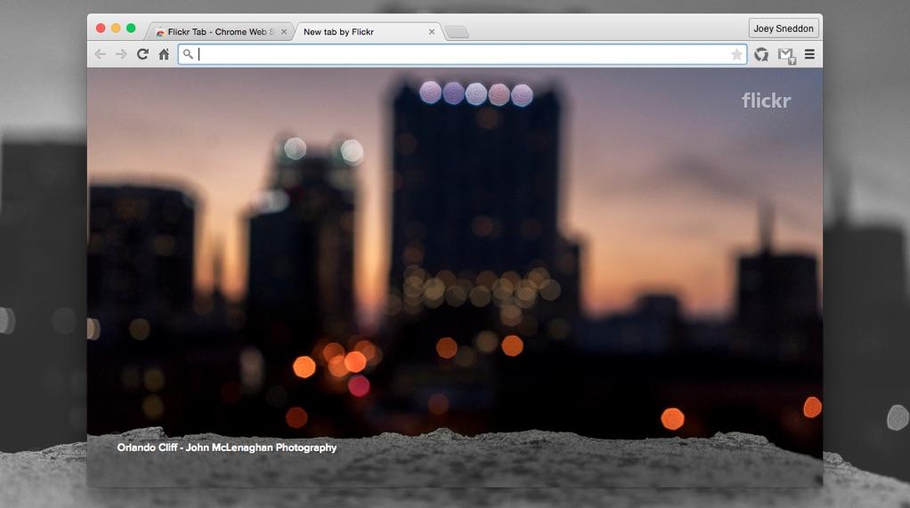 foto flickr chrome