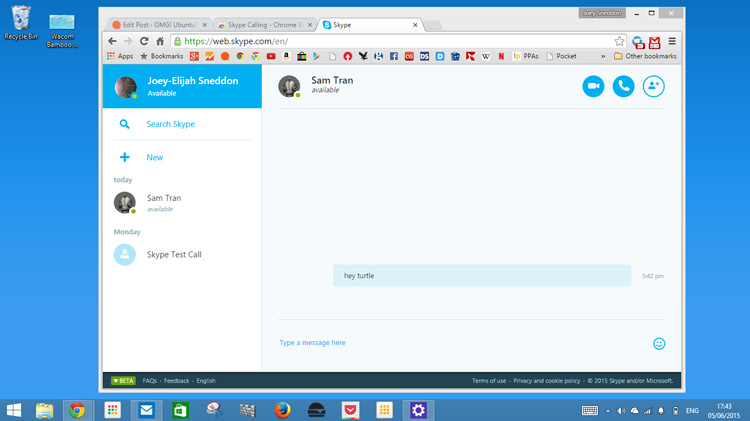How To Use Skype For Web In Google Chrome Omg Chrome