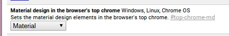 chrome dev flag screenshot