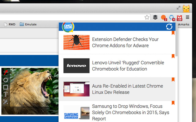 Chrome extensions will soon run in Firefox
