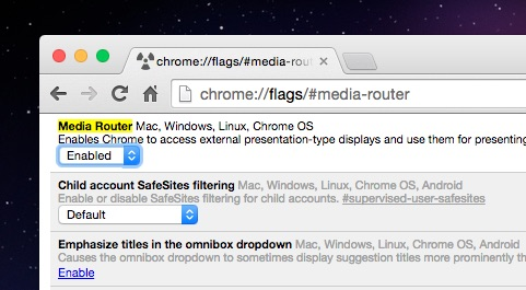 How To Enable Native Cast Support in Google Chrome