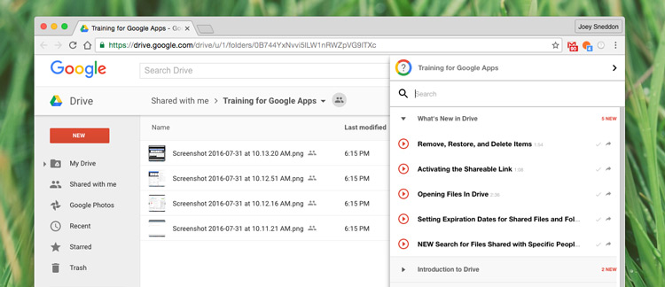 'Training for Google Apps' Is One Of Chrome's Best Kept Secrets