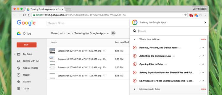 'Training for Google Apps' Is One Of Chrome's Best Kept Secrets