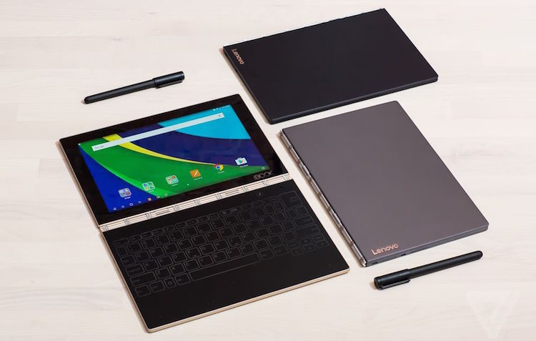 lenovo yoga book from the verge