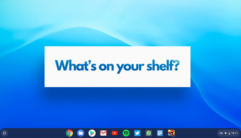 How Many Apps Do You Pin to Your Chromebook's Taskbar? | OMG